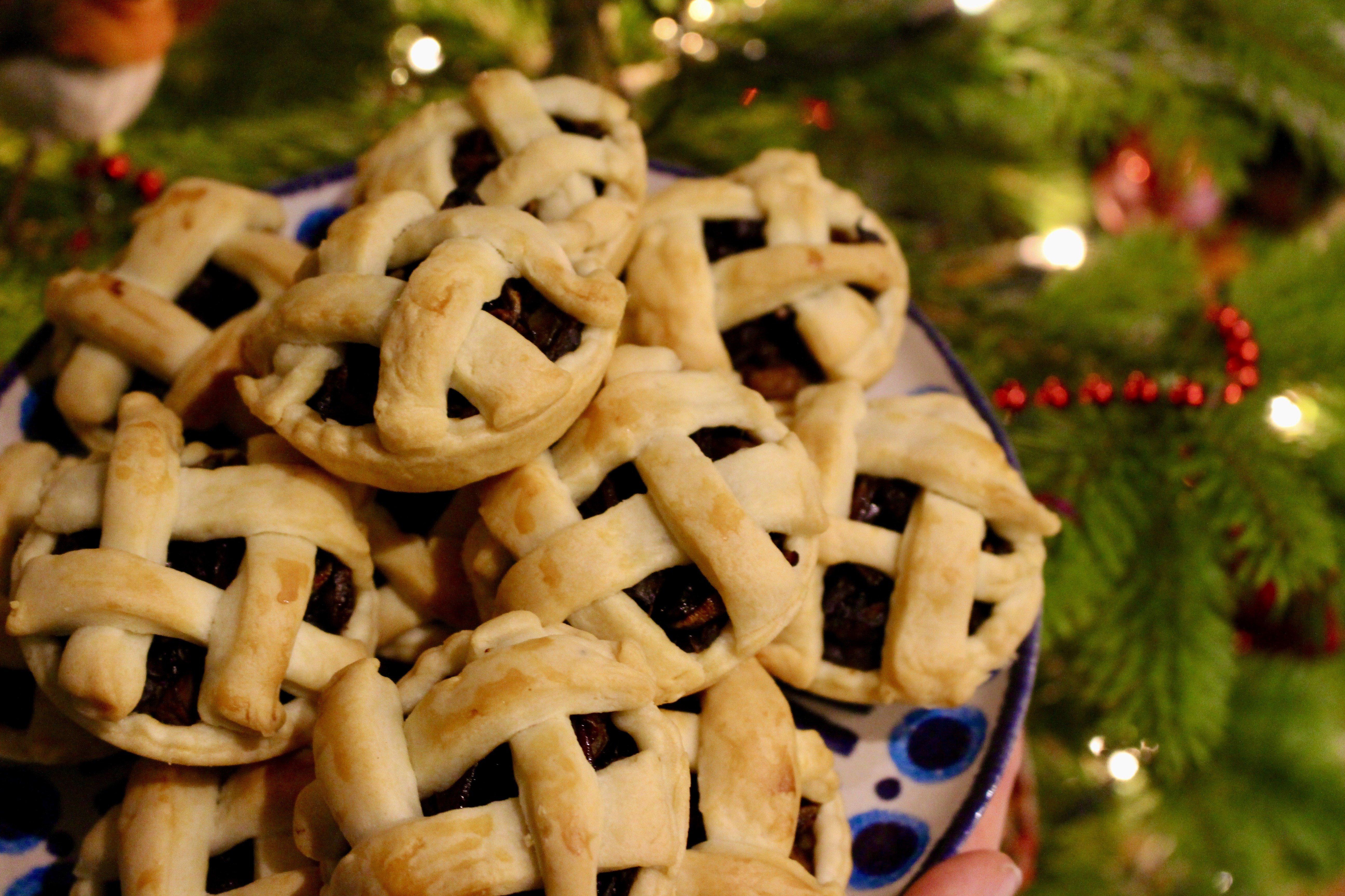 Port and Mushroom Mini Pies